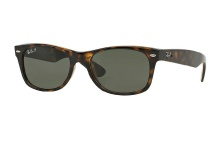 Ray Ban RB 2132 New Wayfarer - Tortoise (Polarized)