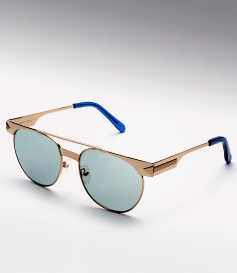 Karen Walker Agent-Gold/Blue