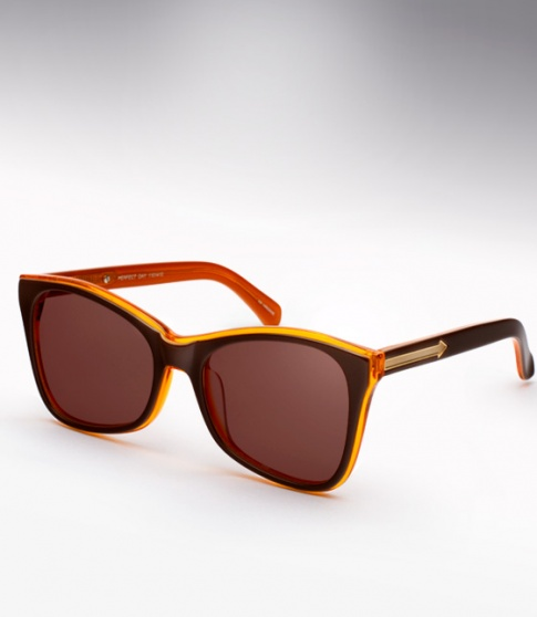 Karen Walker Perfect Day - Brown/Orange
