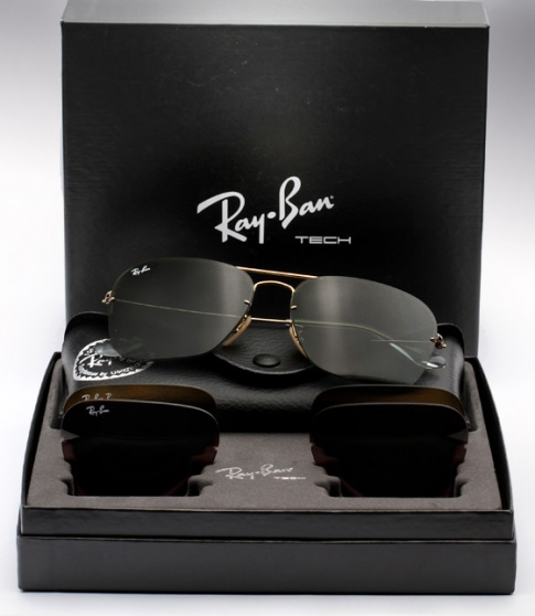 Ray Ban Caravan Flip Out