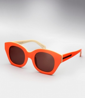 Karen Walker Soul Club - Fluro Orange