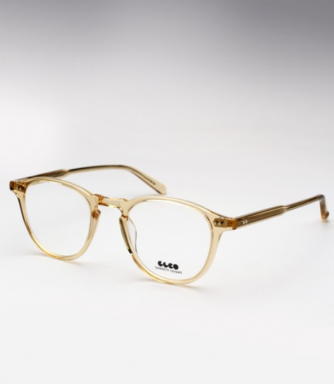 1e7453ef644 Garrett Leight GLCO Hampton Eyeglasses - Champagne