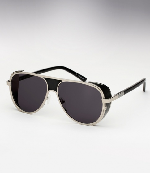 Ksubi Cisco - Silver and Black Leather