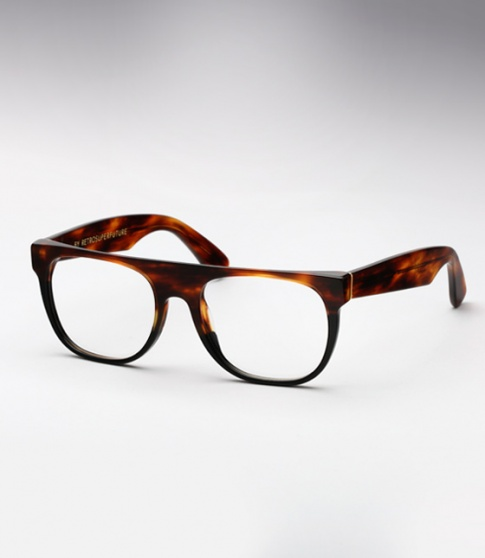 Super Flat Small Havana & Black (Eye)