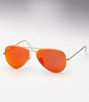 Ray Ban Aviator Rb 3025 Colored Mirror Sunglasses Sunset
