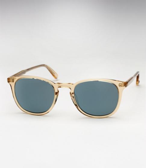 fd9dddbec89 Garrett Leight Kinney sunglasses - Champagne   Blue