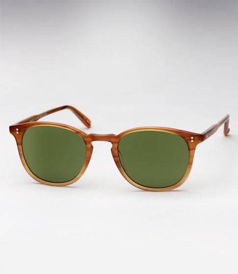6664401907 Garrett Leight Kinney sunglasses - Blonde Tortoise Fade