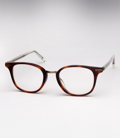 Garrett Leight Venezia -  Maple Tortoise + Clip (Eye)