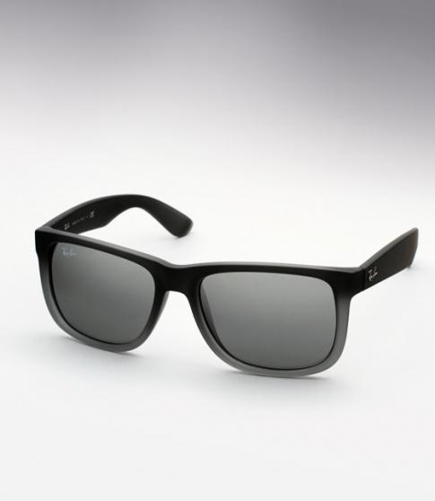 c1bc976f9699 Ray Ban RB 4165 Justin Sunglasses - Matte Grey Gradient