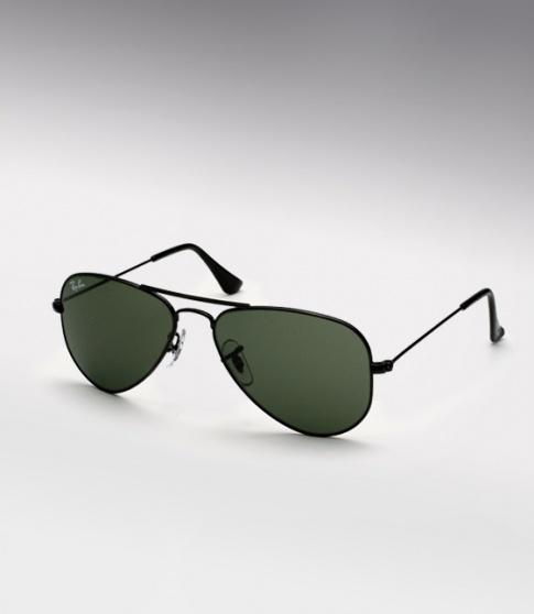 5e4b1b6742 Ray Bans Complete Black Aviators Sunglasses « Heritage Malta