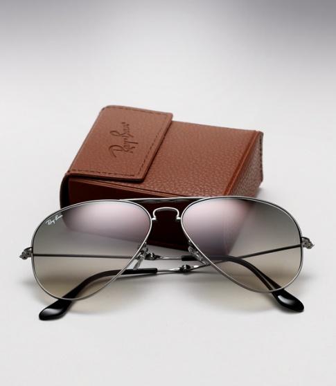 ray ban sunglasses folding aviator  ray ban rb 3479 folding aviator gunmetal / grey gradient