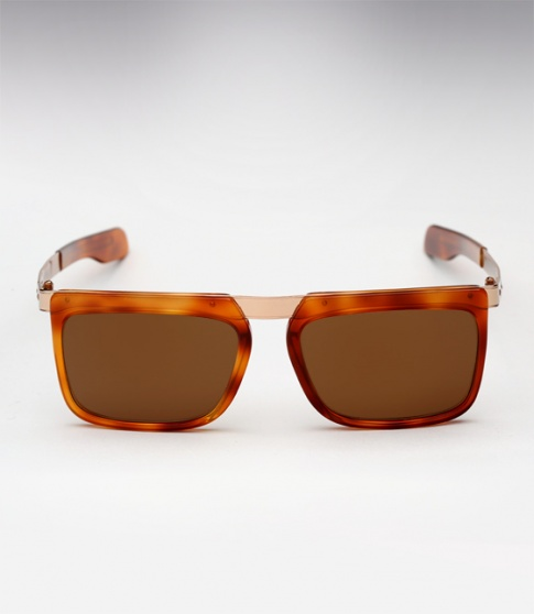 Cutler & Gross 1057 Shades in Honey Tortoise