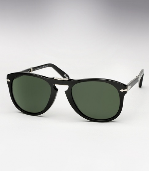 Persol 714SM - Black w/ G15 Polarized