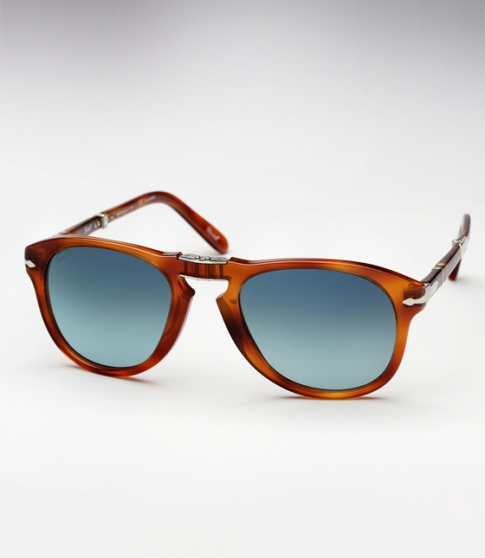 Persol 714SM - Honey Tortoise w/ Blue Gradient Polarized