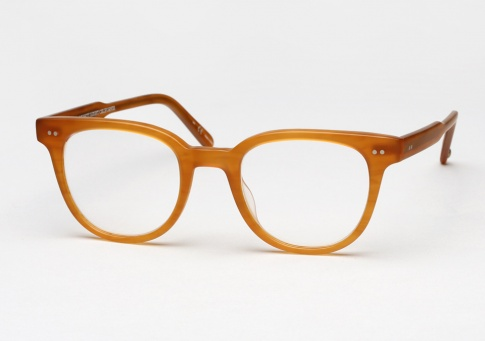 Garrett Leight Angelus - Matte Butterscotch (Eye)