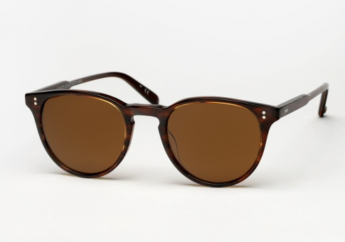 Garrett Leight Milwood - Brandy Tortoise