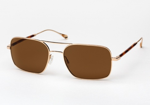 5b4908d629d Oliver Peoples West De Oro sunglasses - Gold w  Canyon Polarized