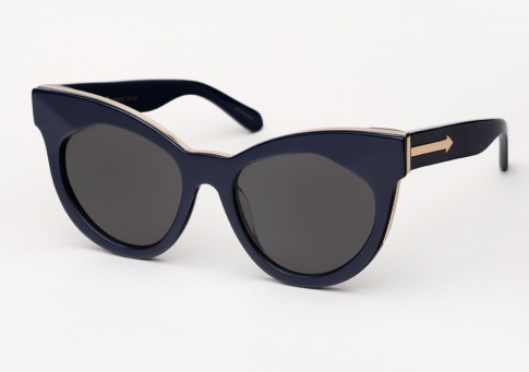 Karen Walker Starburst - Navy and Gold