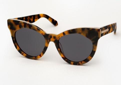 3454712babf Karen Walker Starburst Sunglasses - Tortoise and Gold