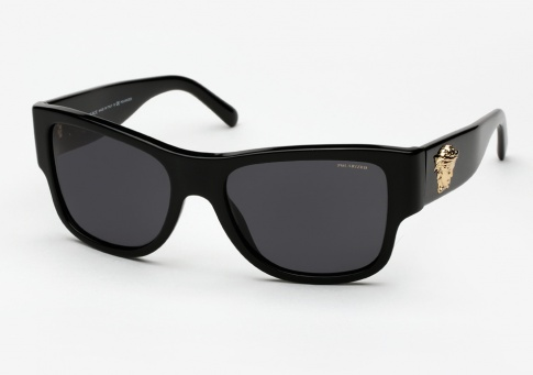 Versace Polarized Sunglasses  versace 4275 sunglasses black polarized