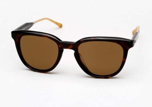 Oliver Peoples West Beech - Oak w/ Canyon Polarized