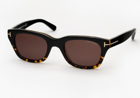 f58f94b7113a8 Tom Ford Snowdon - James Bond Spectre Sunglasses - Black Amber