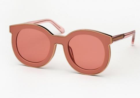 d3ed9cc5fc25 Karen Walker Super Spaceship Sunglasses - Rose Pink