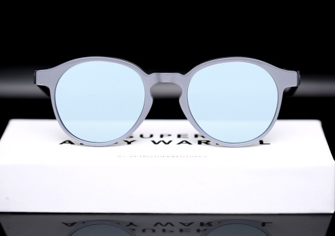 Andy Warhol Sunglasses  super x andy warhol the iconic silver sunglasses