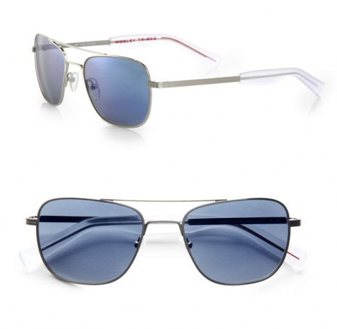 02b23a76bcc65 Mosley Tribes Cayton sunglasses - Brushed Silver