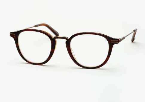 Garrett Leight Hampton Combo - Matte Whiskey Tortoise (Eye)