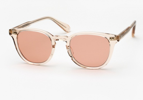 Garrett Leight tinted lens sunglasses Buy Cheap Release Dates Genuine Sale Online Shopping Sale Purchase 1LTV6T6f49