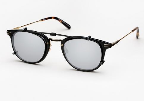 99dee7f1c7 Garrett Leight GLCO Kinney Combo Clip On Eyeglasses - Black