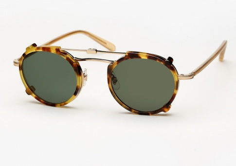Garrett Leight Penmar - Gold / Blonde + Clip (Eye)