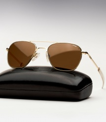 Randolph Engineering Aviator - 23K Gold / Tan Polarized