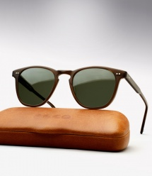 Garrett Leight Brooks - Matte Espresso