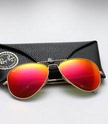 Ray Ban Aviator RB 3025 - Colored Mirror (Sunset)