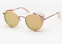 Garrett Leight Wilson Sun Shield - Pink Blush