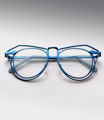 Karen Walker Marguerite - Navy (Eye)