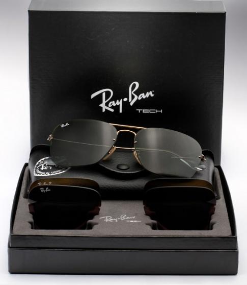 Ray Ban Rb 3461 Caravan Flip Out Sunglasses