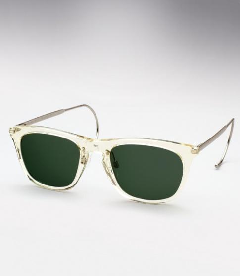 d7f4490f45f Maison Martin Margiela Cable Temple sunglasses - Champagne