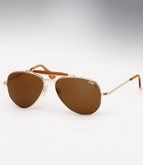 2450f7f552f7 Randolph Engineering Sportsman sunglasses - 23K Gold / Tan Polarized
