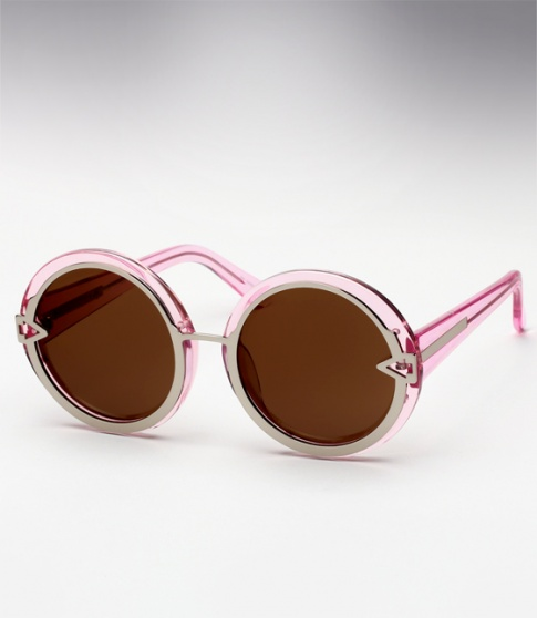 Karen Walker Orbit - Crystal Pink