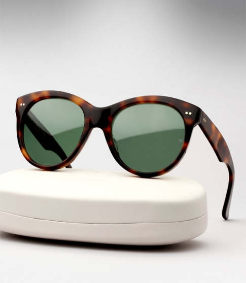 2ac3716e2dd7 Oliver Goldsmith Manhattan Sunglasses - Dark Tortoiseshell