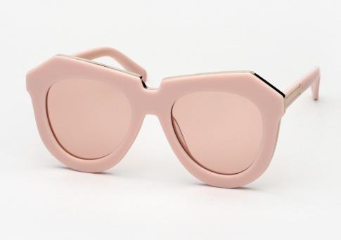 456d6c801c1 Karen Walker One Meadow Sunglasses - Dusty Pink and Gold
