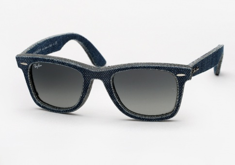 Ray Ban RB 2140 Denim Wayfarer - Blue