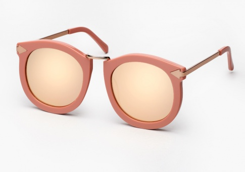 eb93c1965ac0 Karen Walker Super Lunar Sunglasses - Rose Pink