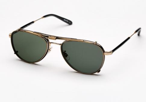 97611acf7d929 Garrett Leight GLCO Linnie Eyeglasses + Clip - Matte Black